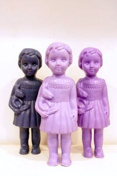Clonette Dolls - Black & Purple