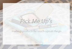 "Quick makeup ""pick me ups"" !"