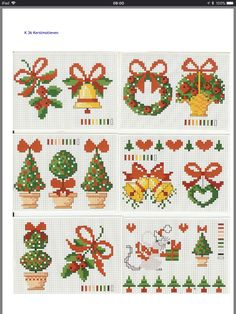 Hesap işi Cross Stitch Christmas Cards, Xmas Cross Stitch, Cross Stitch Heart, Cross Stitch Cards, Beaded Cross Stitch, Modern Cross Stitch, Christmas Cross, Cross Stitch Designs, Cross Stitching