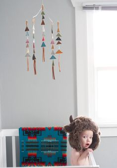 Go mod with these modern crib mobiles.