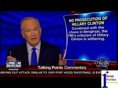 No Prosecution Of Hillary Clinton - O'Reilly Talking Points | 1Plus News