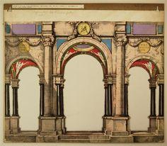 Säulenhalle - Hintergrund Nr. 34 (Alte Ausgabe)
