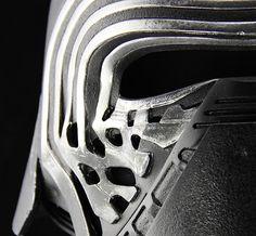 """starwarsvillains: """" Anovos Kylo Ren helmet details """""""