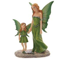 Tales of Avalon Earth Mother Fairy by Lisa Parker Each Tales of Avalon fairy is made from resin and has been designed by Lisa Parker Each comes in a