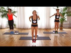 10-Minute Booty-Burning Workout From Sarah Jessica Parker's Trainer | Class FitSugar - YouTube