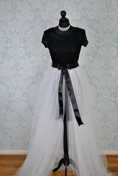 225a016852989 Detachable Tulle Skirt, Bridal Tutu, Detachable Train, Detachable Wedding  Dress Skirt, Detachable
