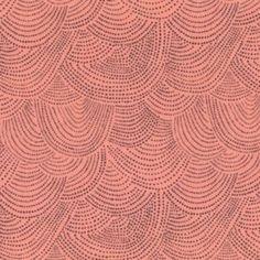 Dear Stella - Desert Bloom - Scallop Dot - Peach