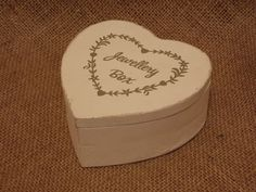 Chic White Wooden Heart Shaby Jewellery Box, £5.25 Jewellery Box, Jewelry, Wooden Hearts, Shabby Chic Style, Inspired Homes, Home Decor Items, Vintage Inspired, Inspiration, Biblical Inspiration