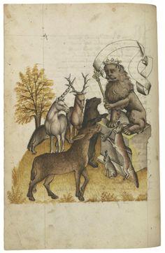 Hugo von Trimberg, (ca. 1230–ca. 1313)Der Renner, in GermanAustria, probably Tyrol, last quarter of the fifteenth centuryTh...