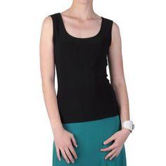 Brinley Co Womens Sleeveless Scoop Neck Top Brinley Co. $4.99. Save 83%!