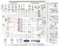 power stroke 6 0l engine wiring diagram ford powerstroke