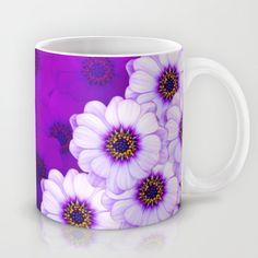 #Purple #Daisy #Mug