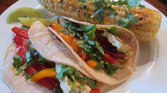 Tofu Tacos, vegan American Vegetarian: May 2013 #vegan #meatlessmondays #americanvegetarian