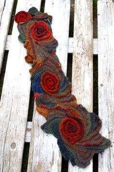 Crochet Scarf Woman winter fashion Gift Crochetscarf от Degra2