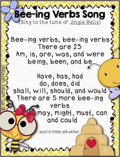Bee-ing Verbs {Linking