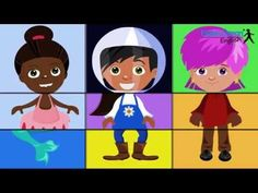 Nice song to learn some body parts.  Move your Body - Fun Song for Kids - YouTube