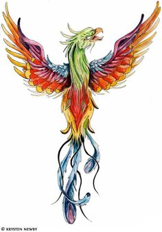 Amazing phoenix tattooos design for yours -