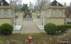 Legoland, Billund 2012 LEGO - Life of George also visited Amalienborg. The winter home of the Danish royal family, and located.....