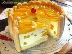 Cotlete de porc in sos aromat cu rozmarinCulorile din Farfurie Sweets Recipes, No Bake Desserts, Cookie Recipes, Delicious Desserts, Yummy Food, Romania Food, Home Food, Mocca, Yummy Cakes