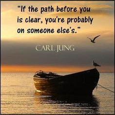 well, thank you, Carl Jung ... omfg ... clear? are you kidding? CLEAR??? omfg ... clear ... what a fantasy .......