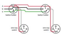 How to wire a 2 way light switch in australia wiring diagrams image showing wiring diagram of a loop at the light circuit asfbconference2016 Images