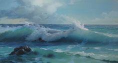 Rough Seas by Viktor Luzik
