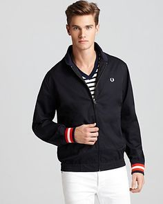 Fred Perry Tennis Bomber | Bloomingdale's
