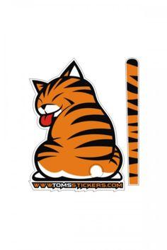 50% OFF - Rear Wiper Cat Stickers