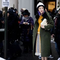 On the street.., | Irene Kim by #asiatypek #streetstyle #streetfashion for #stylecaster #nyfw #fashionweek #irenekim #toryburch #thesocietynyc #ireneisgood