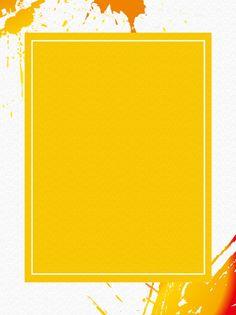 Fondo Amarillo Del Anuncio De La Salpicadura Poster Background Design, Text Background, Cartoon Background, Geometric Background, Yellow Background, Background Patterns, Textured Background, Watercolor Background, Don Du Sang
