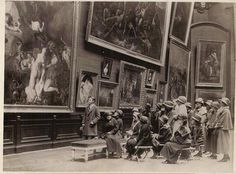 Art Exhibition in the 1890s : Paris