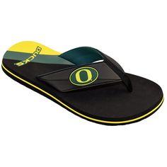 Men's Forever Collectibles ... Oregon Ducks Legacy Slide Sandals 9f7UCS4h