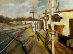 Google Street View Paintings (by Bill Guffey)