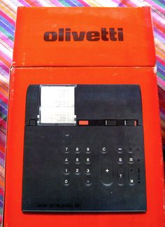 Olivetti Divisumma 28 Desk Top Calculator (Vintage) in Consumer Electronics, Vintage Electronics, Vintage Calculators | eBay