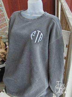 Monogrammed Sweatshirt