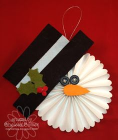 Chelsea's Creative Corner: Snowman Rosette, use as ornaments or fun gift tags!