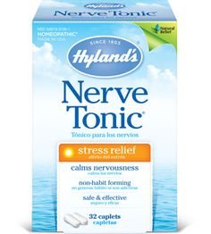 Hyland's Nerve Tonic® // I tried a sample of this and felt almost no result. On the bright side, the taste and texture of the dissolving tablet was just fine. Perhaps with larger, more consistent doses an effect could be felt. I, personally, am not so sure.