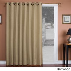 112 Wide Blackout Patio Curtain