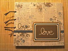 Handmade Memory-/Wedding-Album Wedding Memorial, Wedding Album, Things To Do, Memories, Books, Handmade, Crafts, Do Crafts, Things To Doodle
