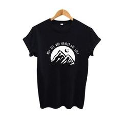 Travel Shirts, Casual Tops, Wander, Black Tops, Lost, Crop Tops, Collections, T Shirt, Products