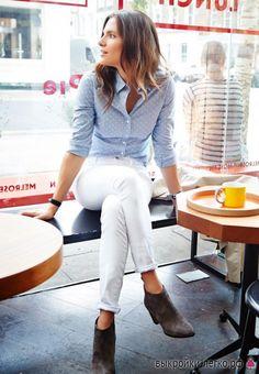 Выкройка женской приталенной рубашки | Выкройки онлайн и уроки моделирования