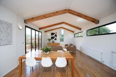exposed roof trusses - Google Search