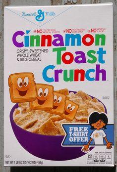 Vintage Candy, Vintage Food, Vintage Recipes, Vintage Art, Cereal Boxes, Rice Cereal, American Breakfast, Cinnamon Toast Crunch