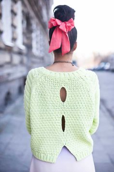 Knit & Style Diary-nice double seed/moss stitch
