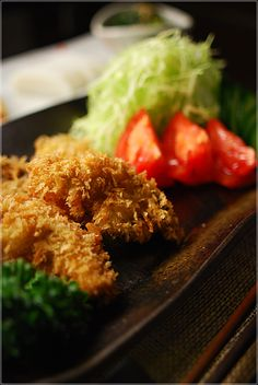 Japanese fried oyster カキフライ