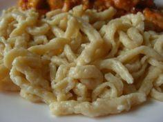 Ochutnávky od Jarky - Základní recepty - Špecle (Spätzle) Spatzle, Pavlova, Macaroni And Cheese, Ethnic Recipes, Food, Mac And Cheese, Essen, Meals, Yemek