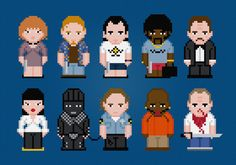 Pulp Fiction Movie Characters - Digital PDF Cross Stitch Pattern    This is a digital PDF file of a cross stitch pattern. You will need to
