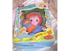 Jammie Pies - Spunkle. I had him when i was a baby. He was my security doll. Love it