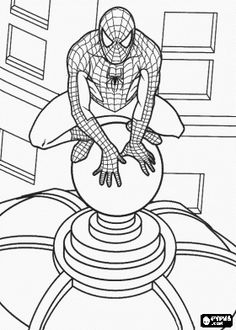 59 amazing Spiderman colouring pages for girls. Your girls will think these Spiderman colouring games are fun. Spider Coloring Page, Superhero Coloring Pages, Spiderman Coloring, Marvel Coloring, Cartoon Coloring Pages, Coloring Pages To Print, Coloring Book Pages, Free Printable Coloring Sheets, Coloring Sheets For Kids