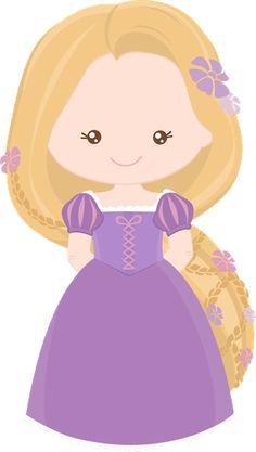 Princess Rapunzel from Tangles~Clipart! Disney Rapunzel, Princess Rapunzel, Little Princess, Fuchs Silhouette, Chateau Moyen Age, Clip Art, Cute Clipart, Kawaii, Cute Images